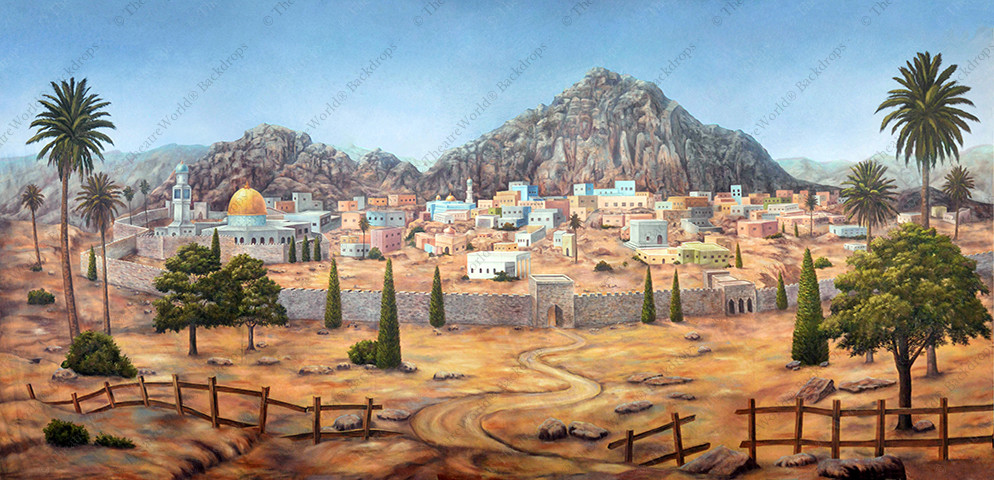 Ancient Middle Eastern Town