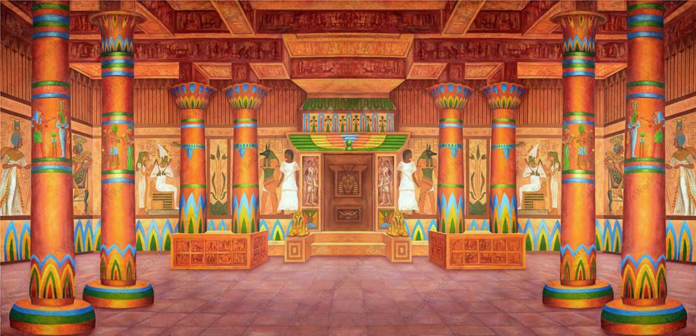 Pharaoh's Palace Interior