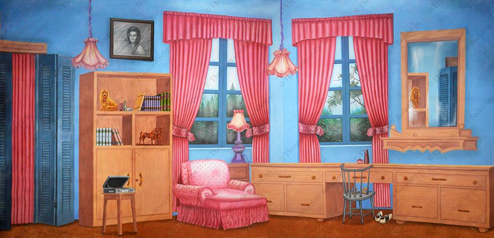 Sweet Pea's Bedroom