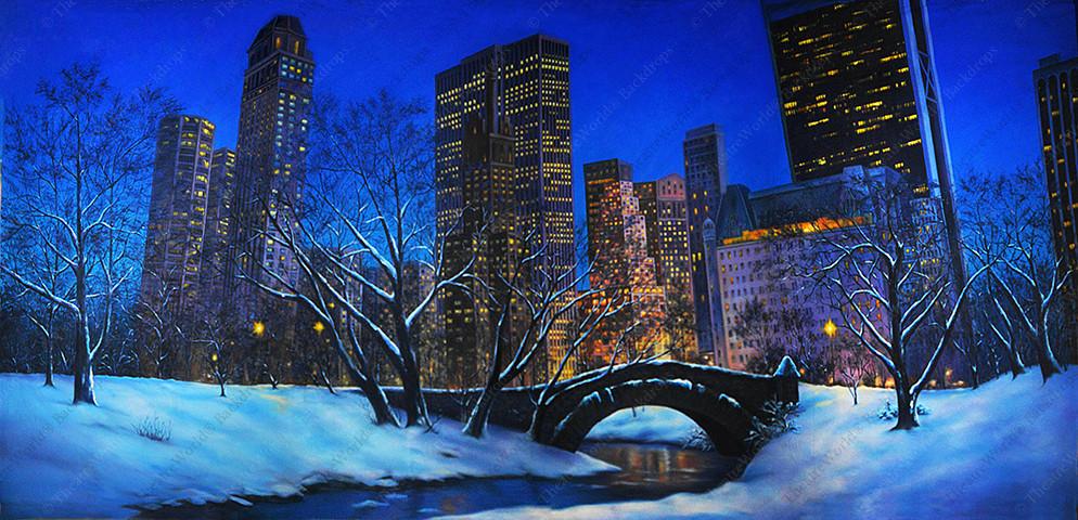 Snowy Central Park - B