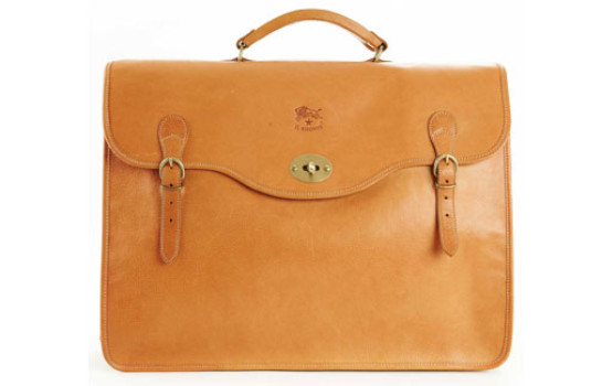 Carry it all with an Il Bisonte briefcase from Hunt Leather