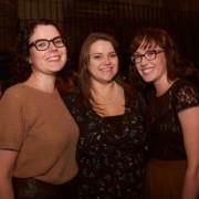 Emily Williams, Amanda Doellinger & Mel Tickle