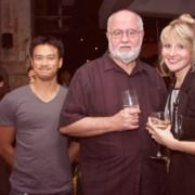 Sunny Ho, Stephen Jones & Sarah Streets