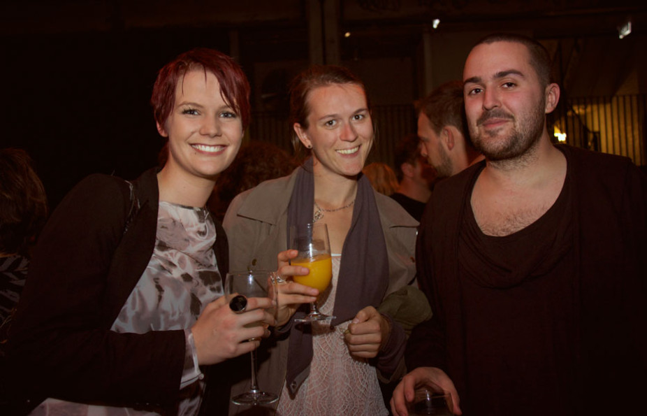 Nikki Kalkman, Annie Cavanah & Justin Box