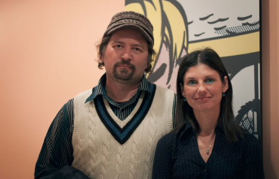 Andrew Hlinovsky & Olga Silver