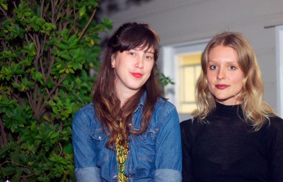 Sian Williams & Lisa Lerkenfeldt