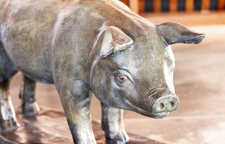 The Golden Pig, Newstead