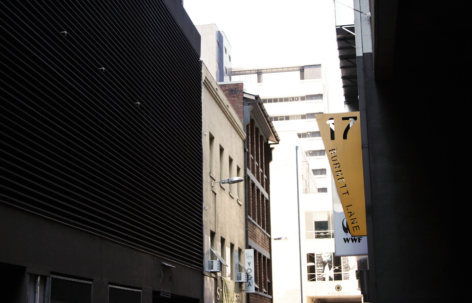 Burnett Lane, Brisbane City