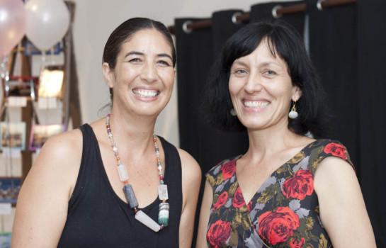 Annie Tewhiu & Leonie Sanderson