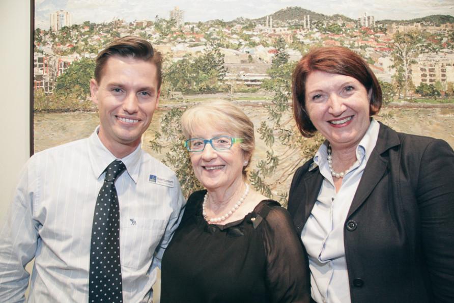 Robert Lamberth, Joan Sheldon & Vicki Howard
