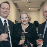 Marshall Cooke, Fabienne Cooke & Chris Anstey