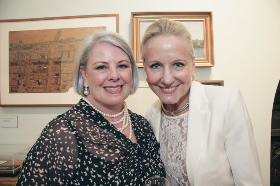 Margaret Hayes & Carol McFarlane