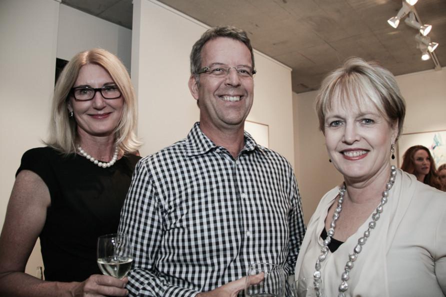 Jillian Langford, Ron Palmer & Deborah Hinchy