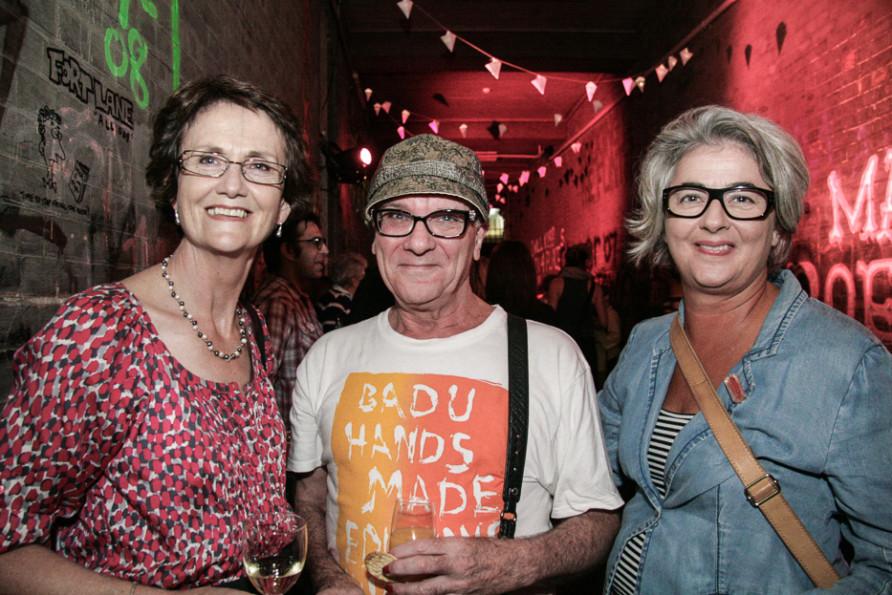Jennifer Cahill, Brian Tucker & Janet McDonald