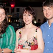 Amy Clarke, Laura Malone & Callum Ross