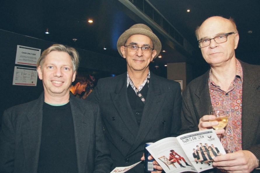 David Bentley, Sante D' Ettorre & Barry Stone