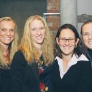 Chloe, Annelies, Jen & Kristina