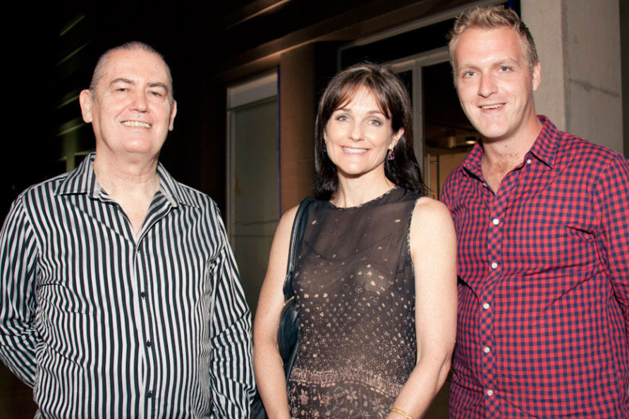 Luke Roberts, Marie-Louise Theile & Hamish Sawyer