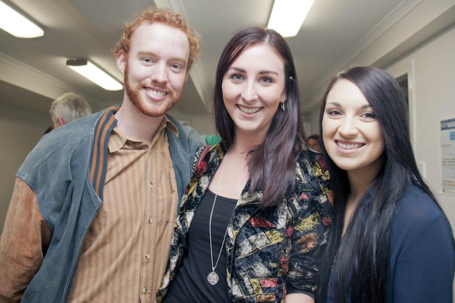 Matthew Sneesby, Jessica Grace & Jessica Mearns