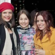 Eloise Kemish, Maddi Romcke & Laura Hansford