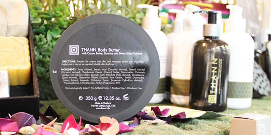 Pamper yourself with softly scented beauty products from Thann Sanctuary