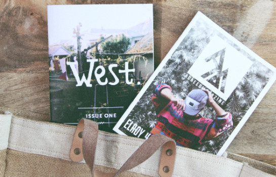 west. and agreed zines