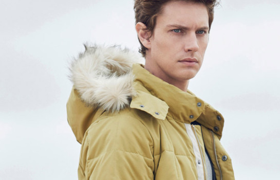 Winter greens and icy blues on trend in Country Road Man's 2015 Autumn/Winter collection
