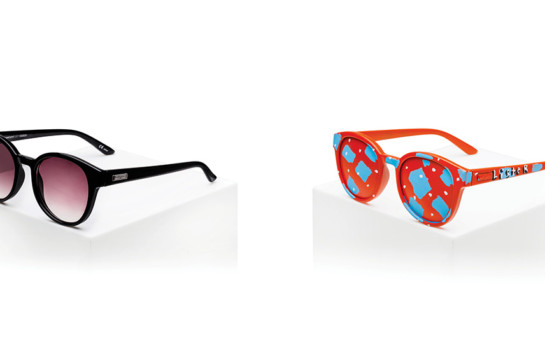 Le Specs team up with Anthony Lister to create wearable art