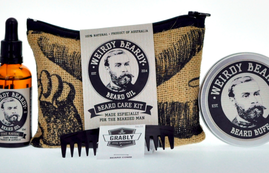 Treat your facial follicles to some TLC courtesy of Weirdy Beardy Beard Oil
