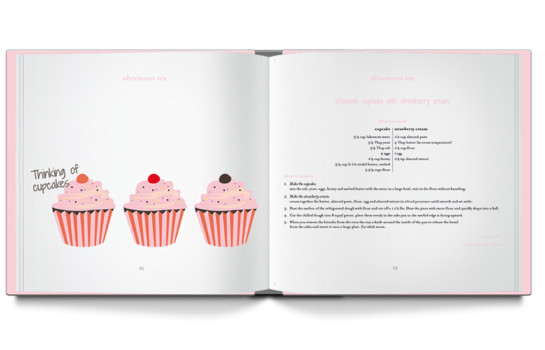 Check out the new mini cookbook written for and by young girls