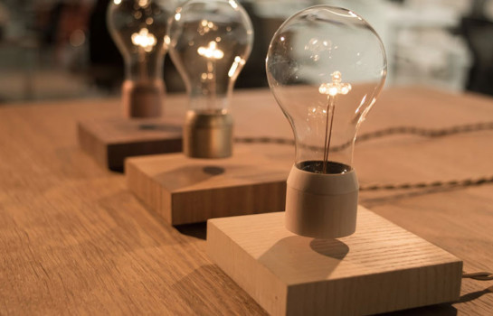 Illuminate your space with the magical FLYTE Levitating Light
