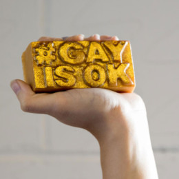 Support equal rights with a bar of Love soap