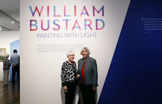 William Bustard: Painting with Light