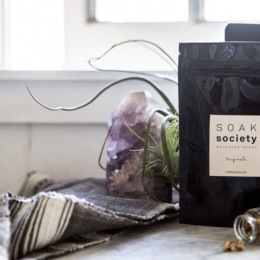 Nourish body and mind with Soak Society