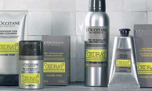 Freshen up your face with some goods from L'Occitane's Cedrat range