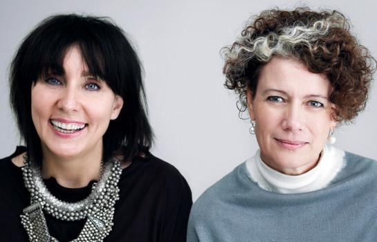 Pamela Easton and Lydia Pearson
