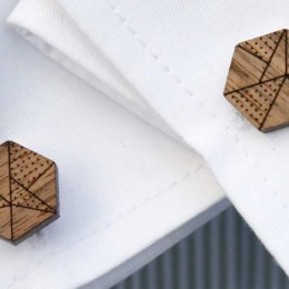 Add a unique spin to your look with cufflinks from The Laser Co