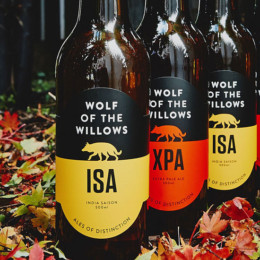 Sip on some distinctive ales from Wolf of the Willows
