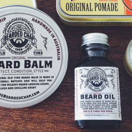 Find grooming products by The Bearded Chap at Young Designers Market