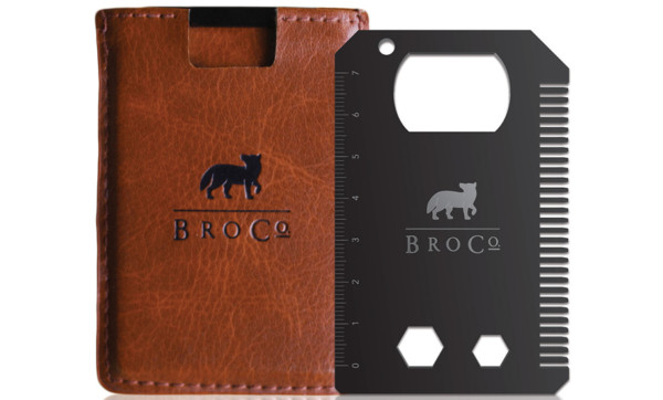 MacGyver your way out of any situation with the BroCard