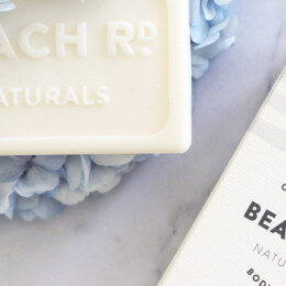 Scrub up with products from Beach Road Naturals