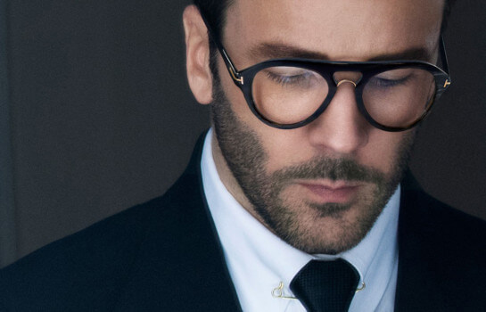 Frame your peepers with eyewear from the Tom Ford Private Collection
