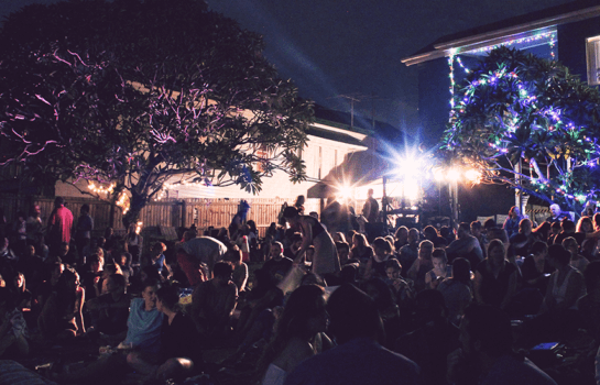 Get cosy under the stars at the Brisbane Backyard Film Festival