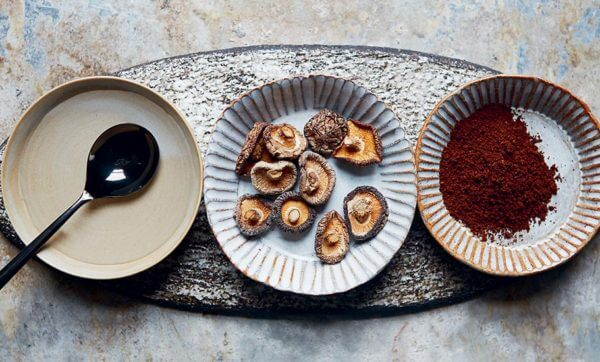 Get experimental with some Coffee Pickle Pour Over Mushrooms
