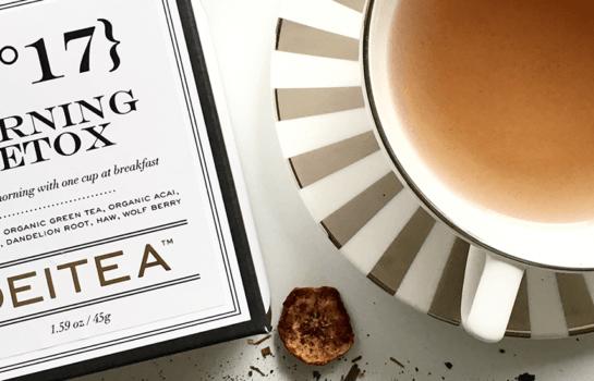 Sip on some bespoke botanical teas from Deitea Tea