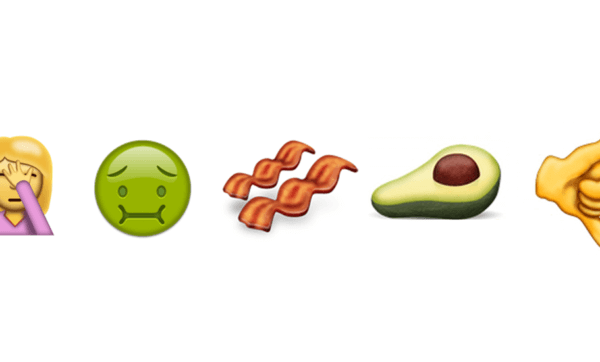 The Weekend Series: five new emojis we're pretty excited about (and yes, there is bacon)