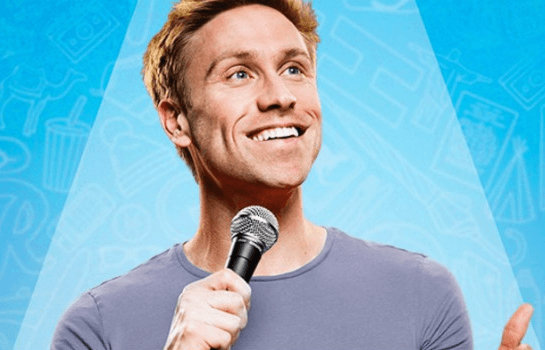 Russell Howard. Round the World. Live Tour.