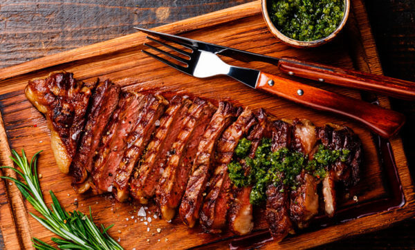 Fancy up your steak with Paul West's meaty marinade