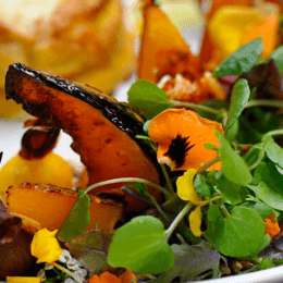 Warm up with a Wild Canary's twice-baked pumpkin souffle