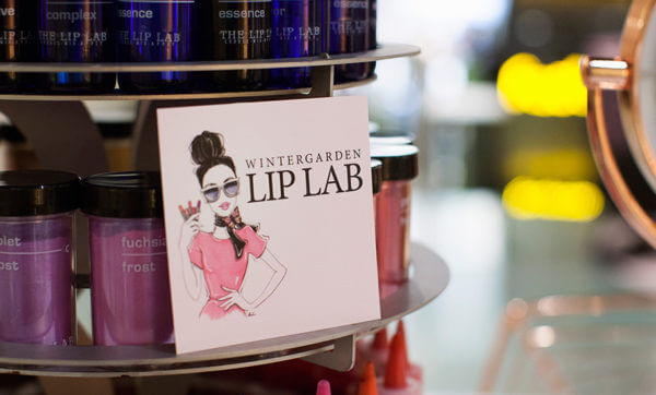 Pop in to The Lip Lab's lippy pop-up in the Wintergarden